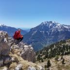 Serra del cadí: Comabona pel coll de la Balma.