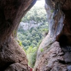 Cova Simanya, el Montcau i la Mola
