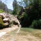 La riera de Mergançol (La ruta dels 6 gorgs)