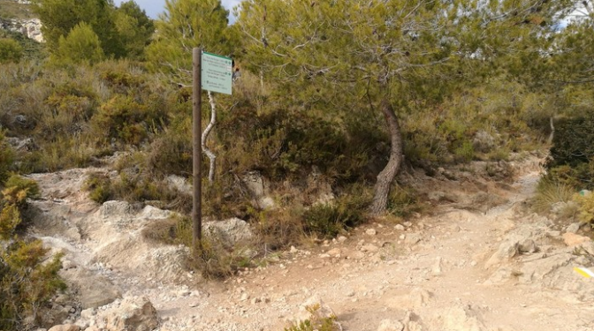 primer creuament ruta dreta o plana