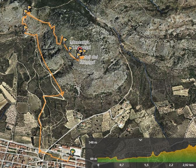 mapa torroella