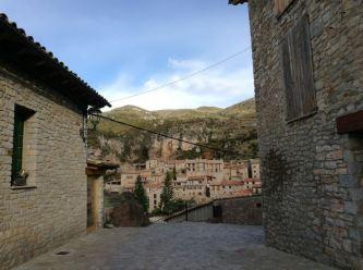 entrada al poble des del sud